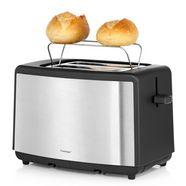 wmf toaster »edition«, voor 2 sneetjes brood, 800 watt zilver