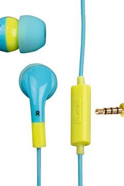 Flip flop in-ear hoofdtelefoon Ocean/Lemon