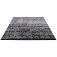 wecon home vloerkleed contemporary kelim woonkamer zwart