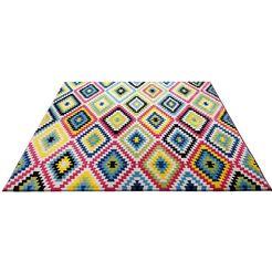 wecon home vloerkleed fresh kelim woonkamer multicolor