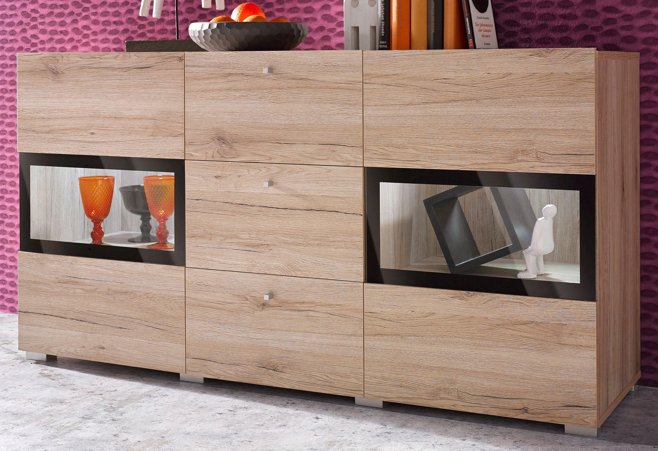 Trendmanufaktur Sideboard Baros breedte 132 cm bestellen: 14 dagen bedenktijd