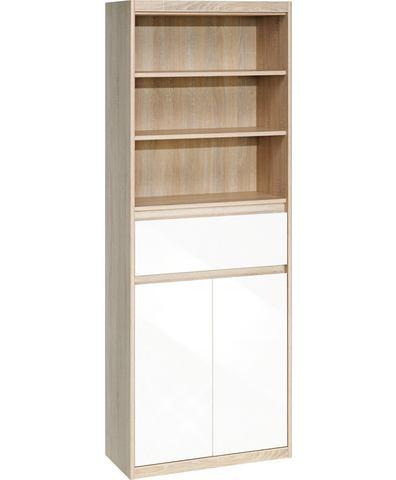 Kasten  vitrinekasten CS SCHMAL Rek Smart met ladeninzet 480914