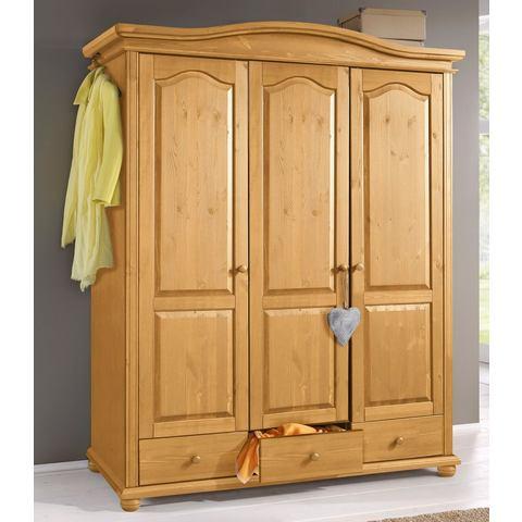 Garderobekast, 3- tot 5-deurs