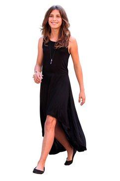 cfl jurk met elastiek in de taille zwart