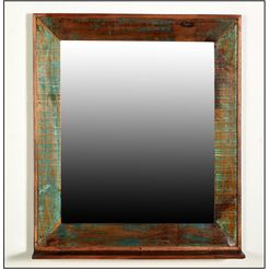 sit spiegel met planchet »riverboat« oranje