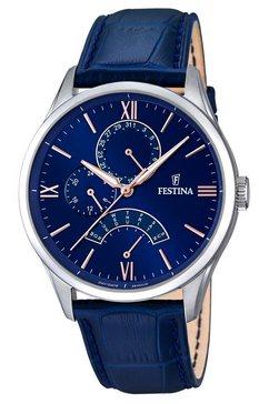 festina, multifunctioneel horloge, 'f16823-3' blauw