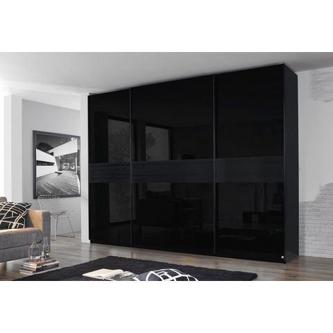 zwarte zweefdeurkast Inosign Hoogte 236 cm 848634