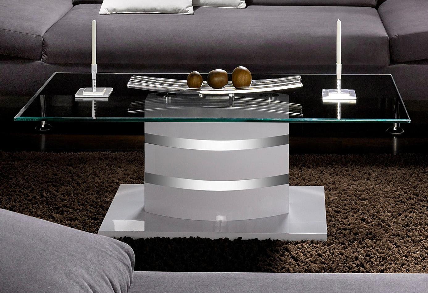 Paroli salontafel met heldere glasplaat goedkoop op otto.nl kopen
