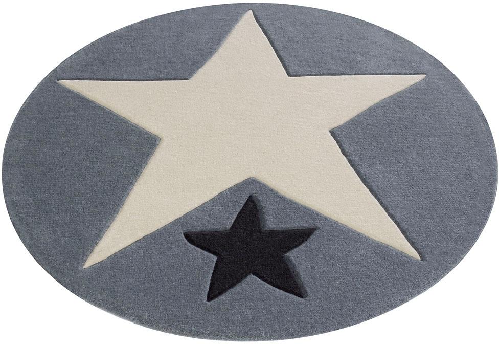 Rock STAR Baby Kindervloerkleed, »707«, met de hand gemaakt, rond goedkoop op otto.nl kopen