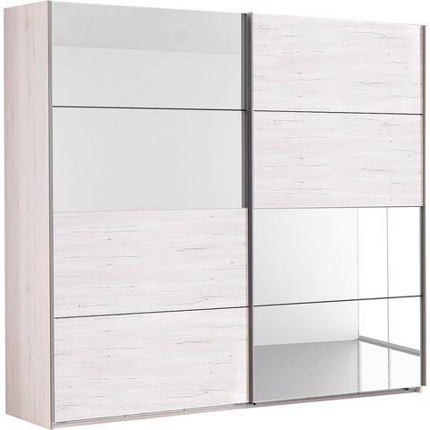 Kledingkasten Zweefdeurkast met spiegelelementen 423103