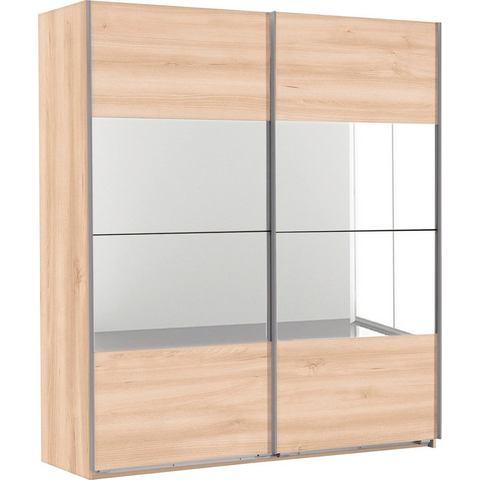 Kledingkasten Zweefdeurkast met spiegelelementen 728414