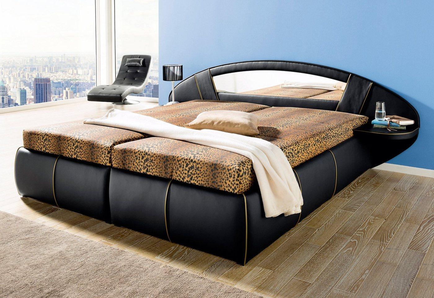 HAPO Bed met spiegel-hoofdbord