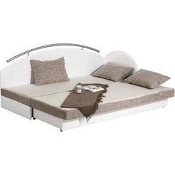 maintal bed met bedkist wit