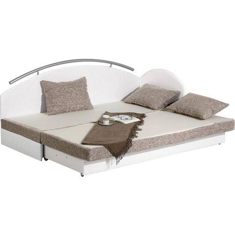 MAINTAL Bed met bedkist schuimmatras H2 wit Maintal 849454