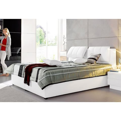 MAINTAL Bed in 3 uitvoeringen Bonell binnenveringsmatras H2 wit Maintal 523365