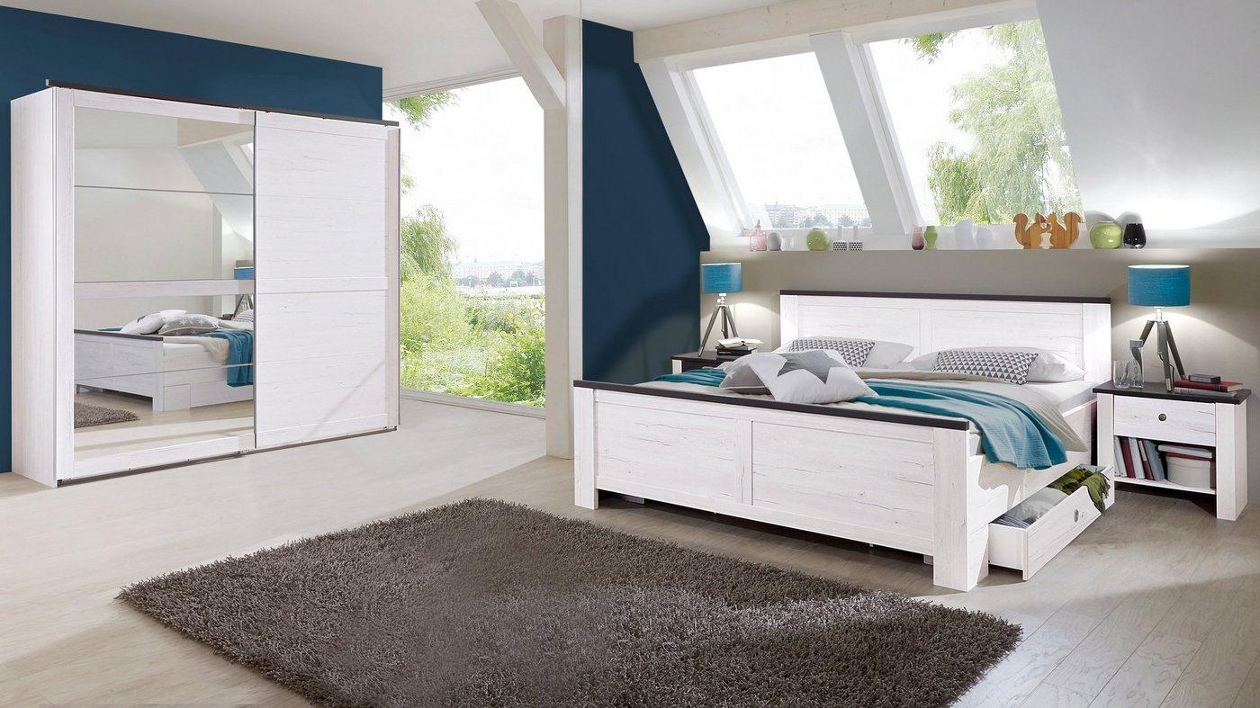 Wimex slaapkamer-voordeelset met zweefdeurkast (5-dlg.)