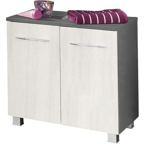 HELD MÖBEL kast Portofino grijze badkamer wastafelonderkast 53