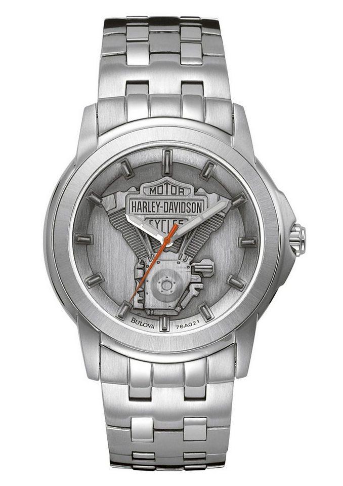 Harley Davidson horloge 'Signature 76A021'