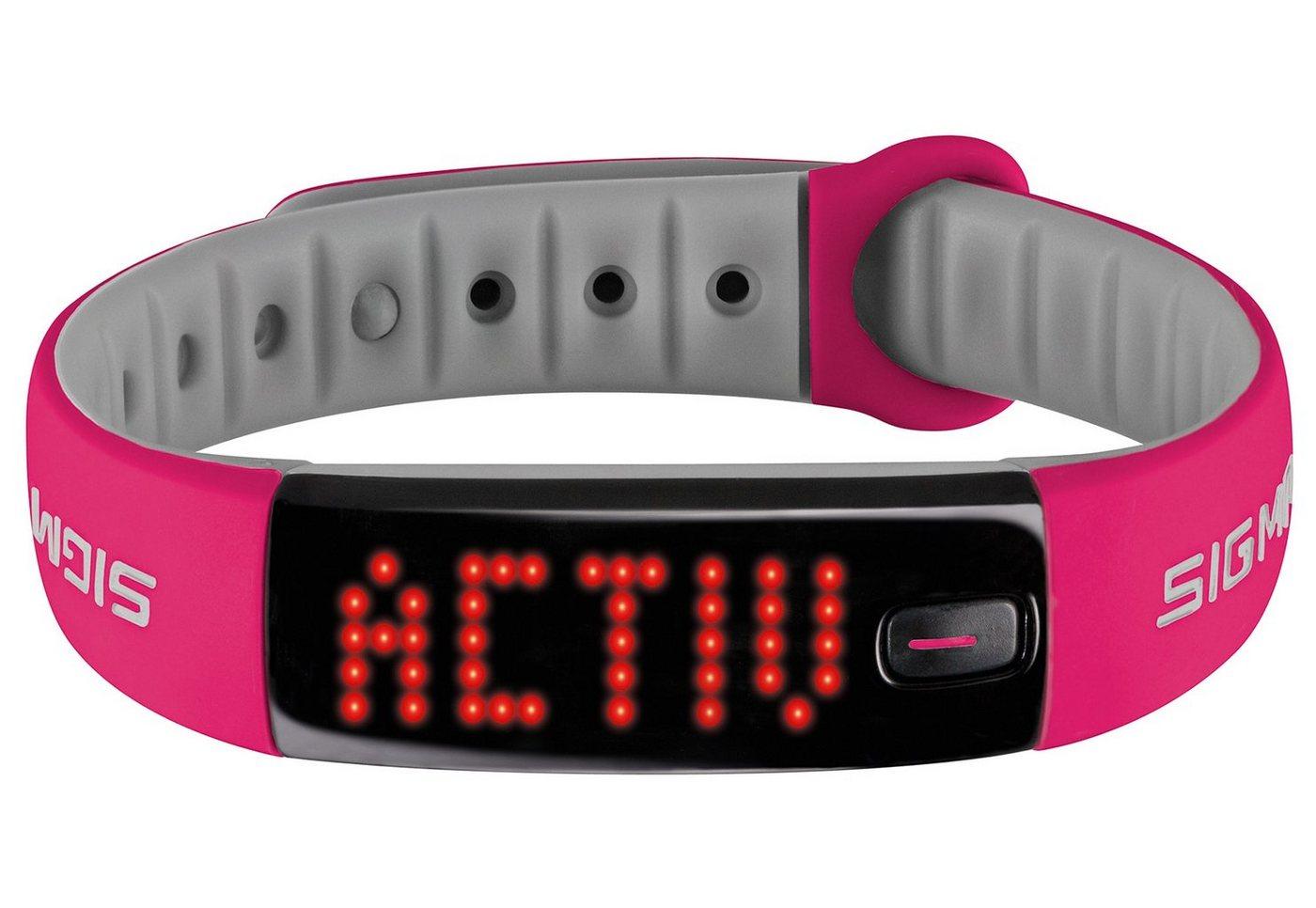 Sigma sport fitness-armband Activity Tracker pink »Activo«