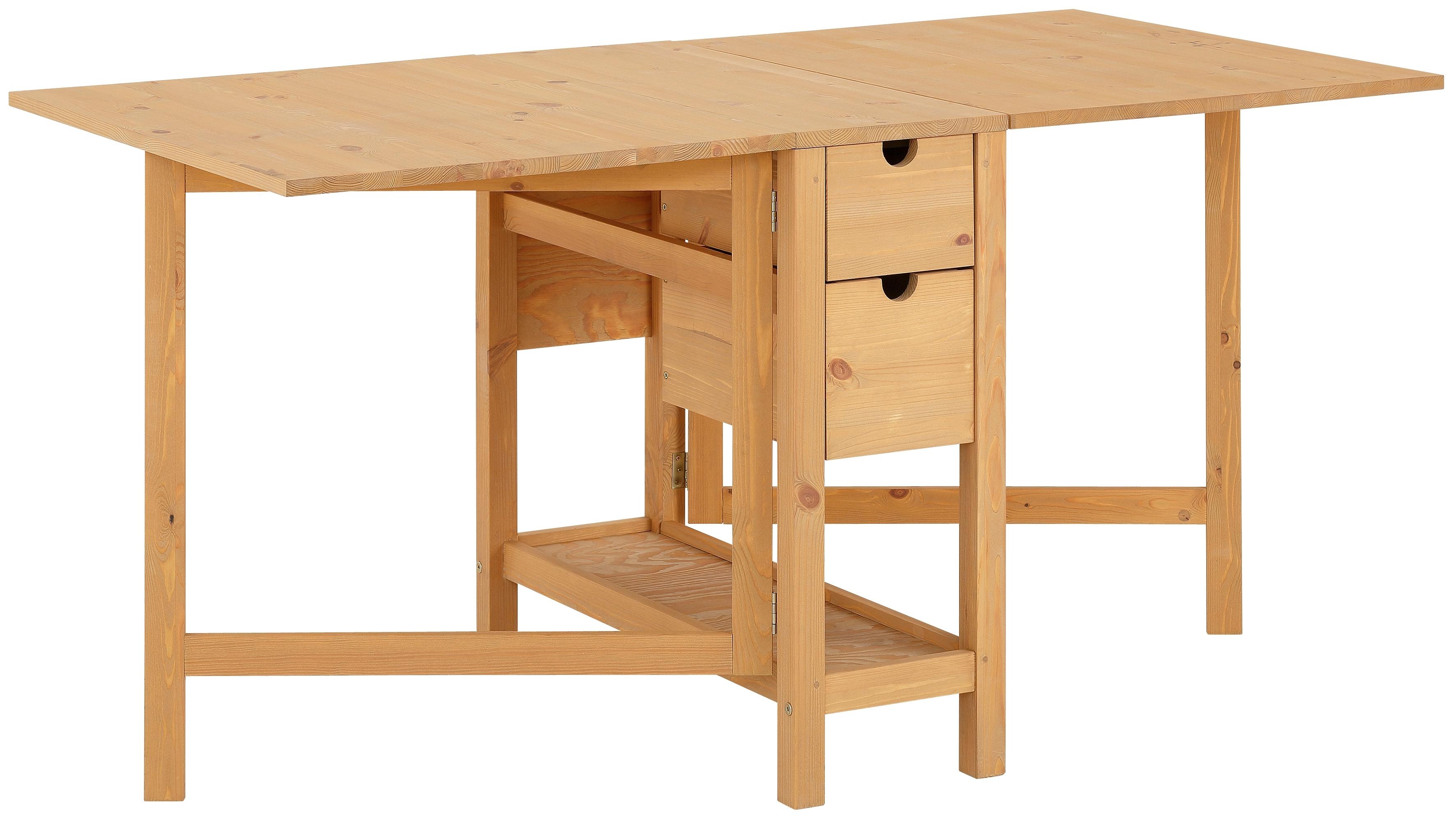 home affaire klaptafel lily met laden online bestellen otto. Black Bedroom Furniture Sets. Home Design Ideas