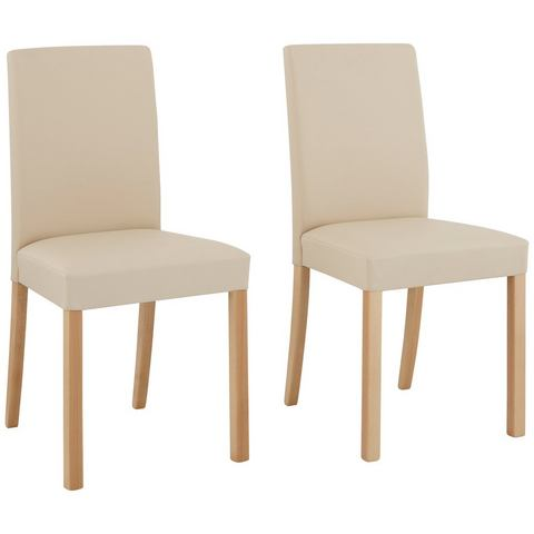 Eetkamerstoelen HOME AFFAIRE Stoel Nina in set van 2 of 4 of 6 498391