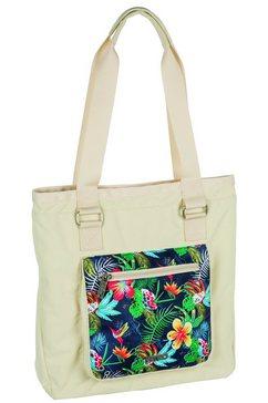 nitro shopper, »tote bag - paradise khaki« multicolor
