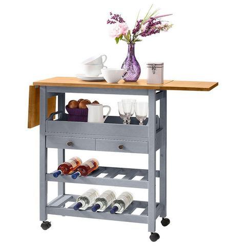 Keukentrolley Nibe van FSC®-gecertificeerd grenen