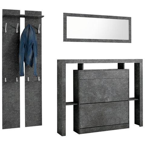 Complete garderobes Halmeubelset Espoo 3-dlg 400710