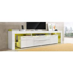 borchardt moebel tv-meubel breedte 220 cm wit