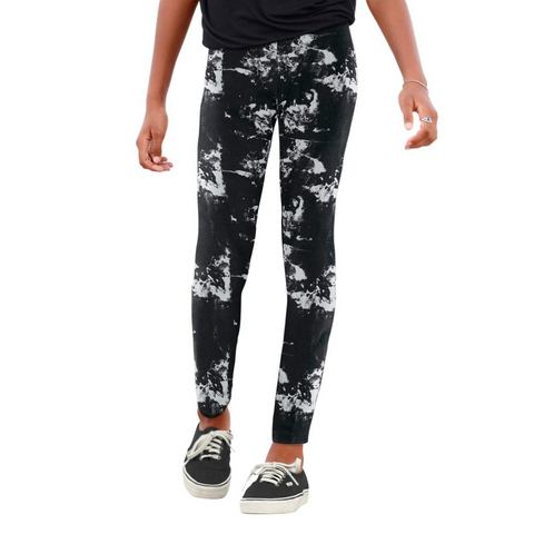 ARIZONA Legging in batik-look