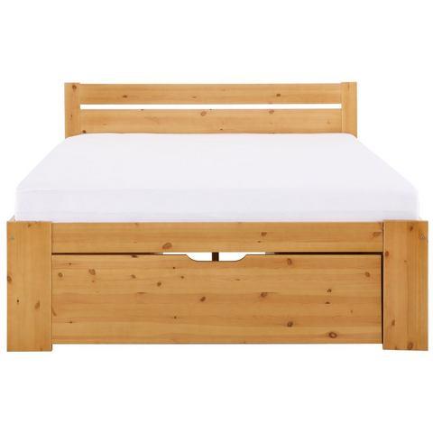 HOME AFFAIRE Bed met bergruimte Hansa beige Home Affaire 871925