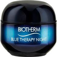 biotherm »blue therapy night cream« nachtcrème blauw