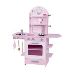 roba speelkeukentje kinderkeuken roze roze
