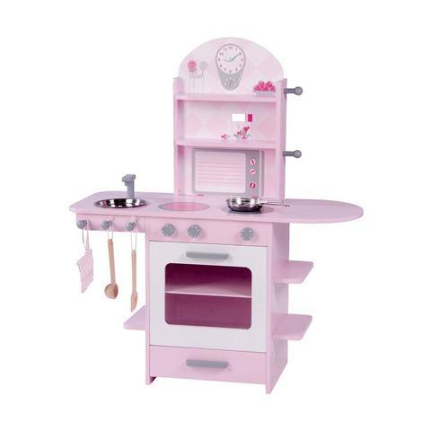 ROBA Speelkeukentje Kinderkeuken roze
