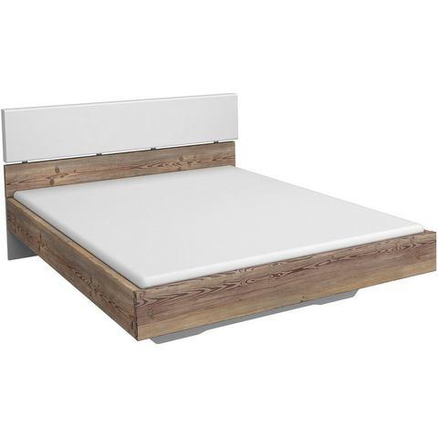 RAUCH Bed met zacht verdikt hoofdbord 140x200 cm wit Inosign 362515