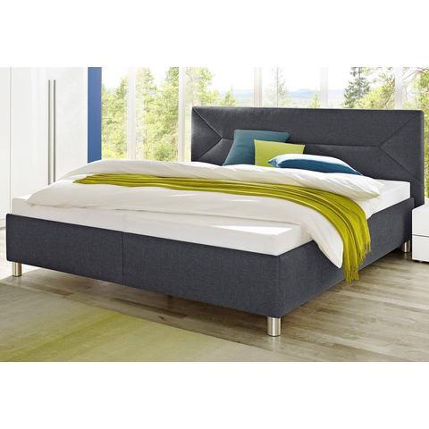 MAINTAL Bed in 3 uitvoeringen Bonell binnenveringsmatras H2 grijs Maintal 326850