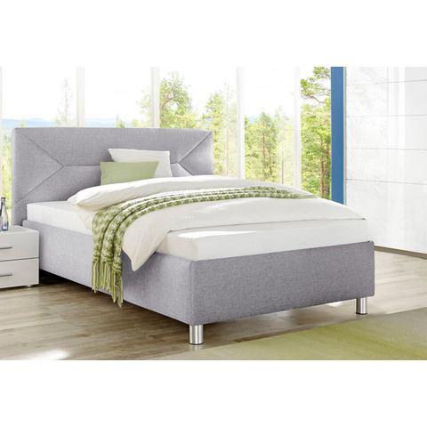 MAINTAL Bed in 3 uitvoeringen 7 zones koudschuimmatras H2 grijs Maintal 366419