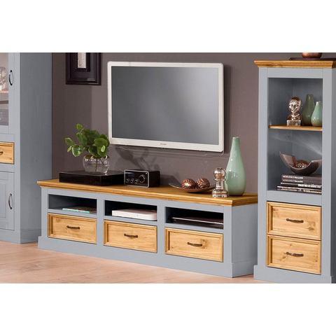 HOME AFFAIRE lowboard Selma breedte 170 cm grijs geloogd TV-kast 258