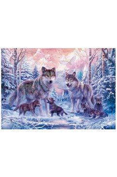 ravensburger puzzel arctische wolven multicolor