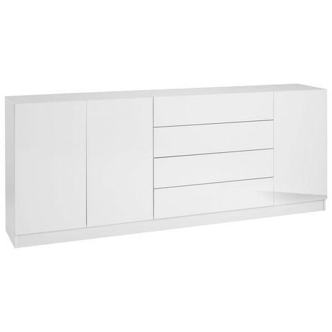 Dressoirs Sideboard Vaasa met push-to-open-functie 217124