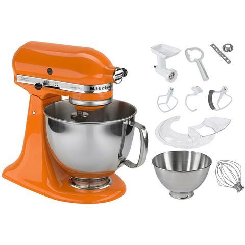 Keukenmachine, KitchenAid, 'Artisan 5KSM150PSETG', oranje