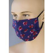 love nature mond-neusmasker voor volwassenen blauw