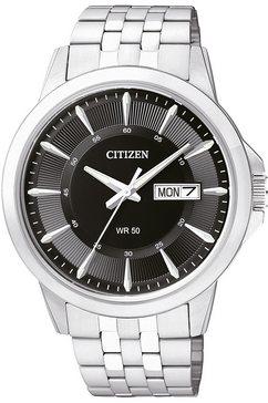 citizen, horloge 'bf2011-51ee' zilver