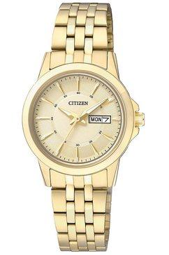 citizen kwartshorloge »eq0603-59pe« goud