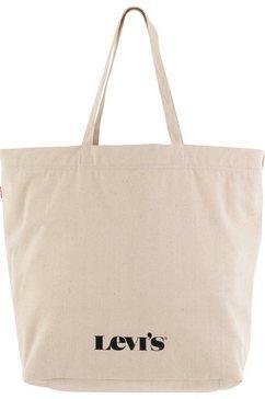 levi's shopper women's drawstring tote beige
