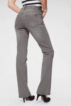 arizona bootcut jeans high waist grijs