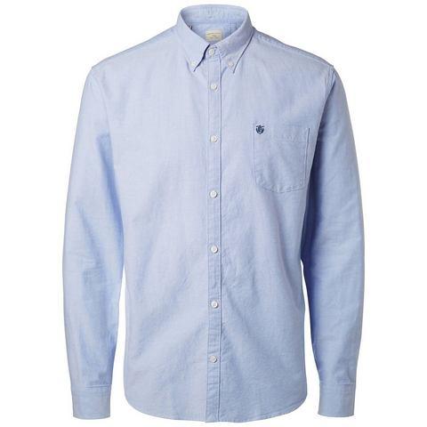 NU 15% KORTING: Selected Oxford - Long sleeved shirt