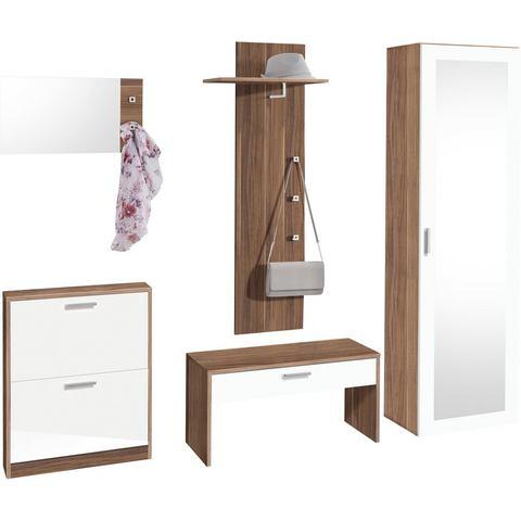 Complete garderobes Garderobeset Torino in 5-delige set 670871