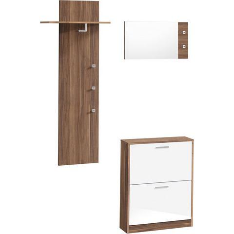 Complete garderobes Halmeubelen Torino in 3-delige set 686418