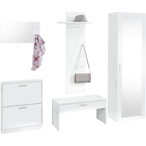 Complete garderobes Garderobeset Torino in 5-delige set 689951